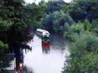 Луцьку дитячу залізницю затопило після зливи