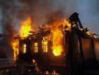 На Волині кульова блискавка спалила будинок