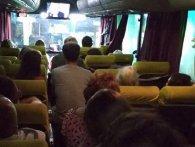 В Українських маршрутках люди їздять зі своїми табуретками