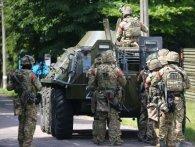 Волинський військовий аеродром звільняють від «терористів»