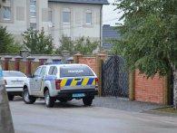 Поліція проводить обшук в будинку Ігоря Рицка