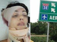 На повній швидкості голою вилізла з авто і…загинула (відео)