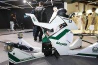 Поліцейські пересіли на літаючі мотоцикли(відео)