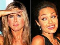 Хто цілується краще - Анджеліна Джолі чи Дженніфер Еністон (відео)
