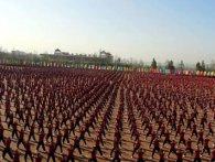 У найбільшій школі бойових мистецтв - 35 тисяч учнів (відео)
