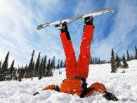 Сноубордисти-аматори добряче розсмішили публіку (відео)