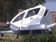Випробували перше літальне таксі-дрон (відео)