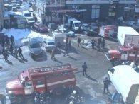 Пожежа в торговому центрі Харкова (відео)