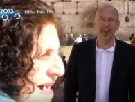 Ізраїльтянка увірвалася в телевізійний сюжет і прославилася на весь світ (відео)