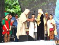 Фестиваль Княжий: історію Володимира продемонстрували актори театру (фото)