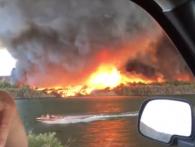 В Аризоні вогняний торнадо перетворився в водяний смерч (відео)
