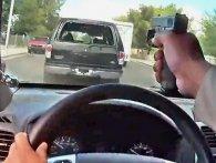 Поліцейський зняв на відео погоню зі стріляниною (відео)