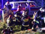Водій автобуса з українцями, який злетів у прірву в Польщі, був тверезий, але їхав швидко