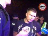 Київський мажор, який зніс три авто, дивом нікого не вбив до моменту аварії (відео)