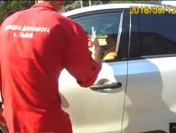 У Львові навіжена водійка заблокувала швидку і умисне чавила копа