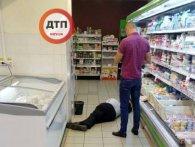 Під Києвом в магазині знайшли мертвого чоловіка