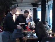 У київському ресторані примхлива клієнтка отримала тортом у лице (відео)