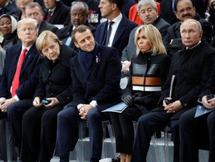 Чим не догодила дружина президенту Франції, якщо він так сильно її покарав