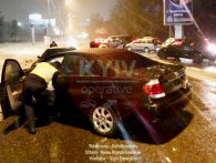 П'яний неадекват влаштував масштабну ДТП у Києві (фото, відео)