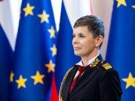 Армією Словенії керуватиме жінка