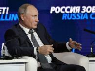 Володимир Путін прокоментував ситуацію в Азовському морі і воєнний стан в Україні (відео)