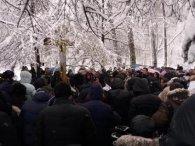 У Києві мітингують прихильники УПЦ МП