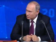 Пильно стежить: Путін на прес-конференції назвав рейтинг Порошенка і перекрутив прізвище Зеленського