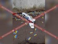 В анексованому Криму упав дрон із проукраїнськими листівками (відео)