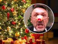 Сергій Шнуров заспівав новорічну пісеньку, в якій себе впізнає кожний (відео)