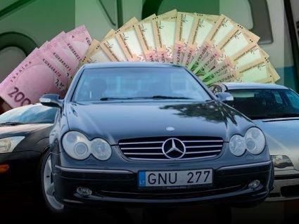 Авторинок України: авто на євробляхах масово продають за 500 доларів