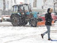 Київ засипало снігом (фото)