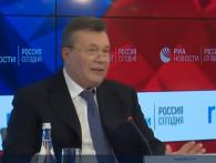 Янукович на прес-конференції порадів, що журналіст із України «ще не в петлі» (відео)