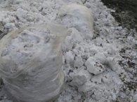 Через приїзд Путіна у Красноярську побілили сніг (фото)