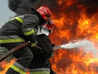 На Полтавщині згорів автобус