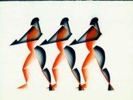 Новий флешмоб: танцювати втрьох, стрибаючи в центр (відео)