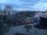 Порошенко таки приїхав на Волинь (фото)