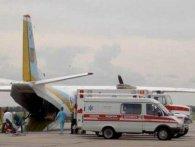 До Львова літаком транспортували важкопоранених бійців ЗСУ (фото)