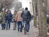 Проблема велодоріжок: луцькі велосипедисти просять простору (відео)