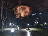 У Маріуполі грандіозна пожежа на території «Азовсталі» (відео)