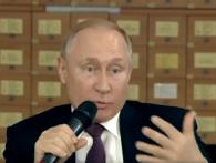 Путін у Криму ламаною українською звернувся до Порошенка: «З глузду з'їхав, чи шо?»