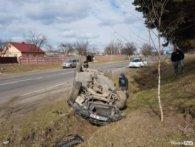 ЗМІ: «п'яне сальто» на BMW під Луцьком зробив скандальний адвокат (фото)