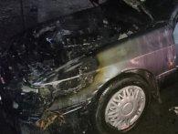 На Львівщині гасили два автомобілі