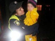 У Херсоні серед ночі на вулиці опинилася роздягнута дворічна дитина