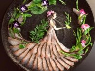 Японця прославили їстівні «картини» з дарів моря (фото)