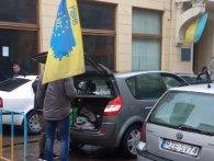 У Львові протестують «євробляхери» (відео)