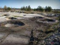 Як поліські ліси стають місячними кратерами: моторошні фото