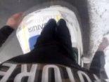 У Рівному «стрибун», який пом'яв машину копам, заплатить 10 тисяч штрафу