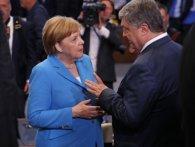 Порошенку в Берліні поставили незручне запитання про Зеленського