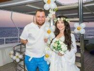 На затопленому кораблі під водою: незвичне одруження рівненського байкера (відео)