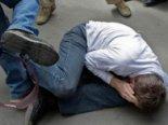 У Києві п'яні не поділили дівчат і влаштували криваве побоїще (відео)